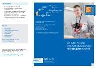 Flyer Fahrzeuglackierer - Versorgungs- und Verkehrsgesellschaft ...