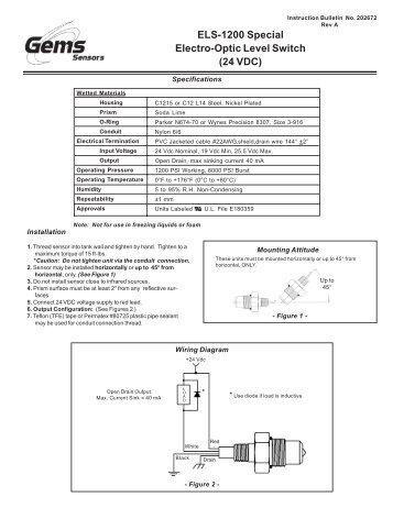 uls 10 part numbers pressure switch instruments gems sensors rh yumpu com Battery's Gem Wiring Diagrams 6 Battery's Gem Wiring Diagrams 6