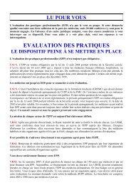 EPP, le dispositif peine à se mettre en place ... - URPS-ML Corse