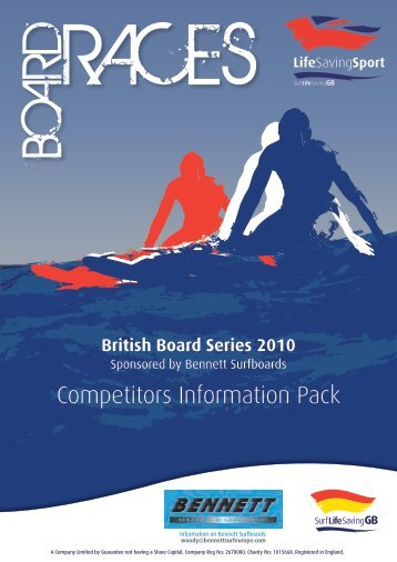 Competitors Information Pack