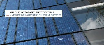 building integrated photovoltaics > a new design ... - EU PV Platform