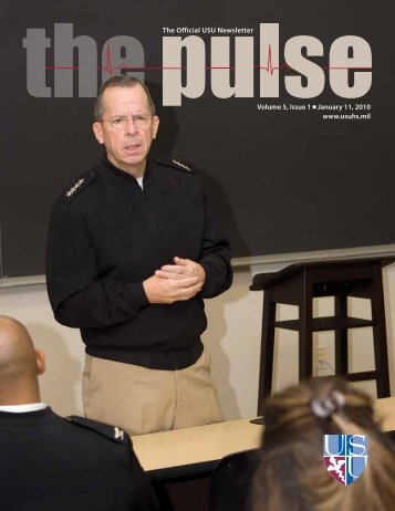 Vol. 5, Issue 1 01/11/10 - Uniformed Services University of the ...