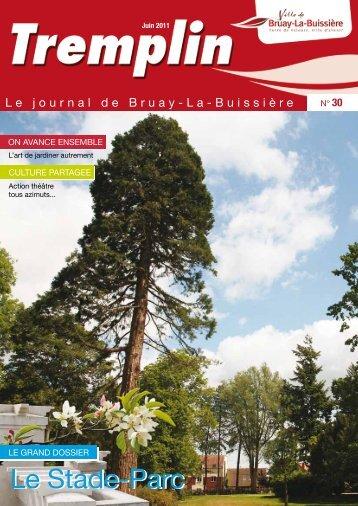 tremplin n°30 - juin 2011 - Ville de Bruay-La-Buissière