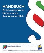Handbuch Versicherungsschutz bei interkommunaler ...