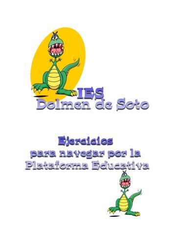 Manual de uso de la Plataforma Educativa - Dolmen de Soto