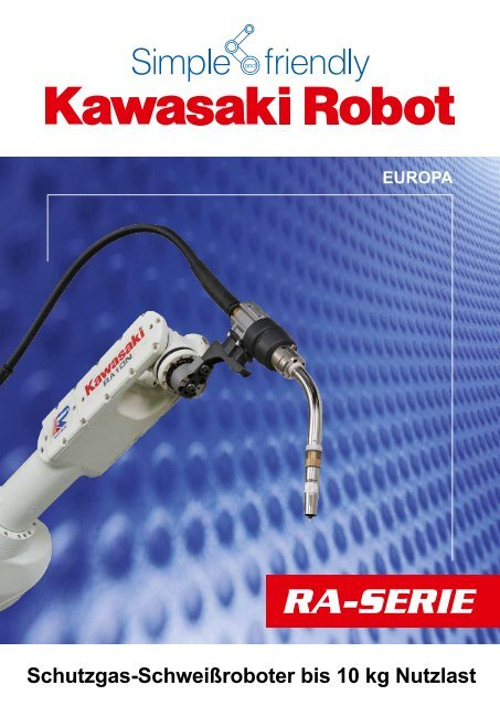 Katalog - RA-Serie - Kawasaki Robotics Deutschland GmbH