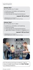 Angebote für Jugendgruppen - Phaeno - Seite 3