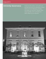 University Governance - SCampus - University of Southern California
