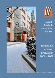 Evaluationsbericht 2009 als Download - OSZ Lotis Berlin
