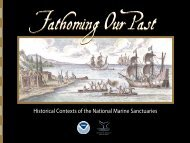 Fathoming Our Past - National Marine Sanctuaries - NOAA
