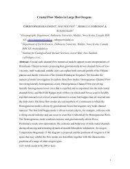 This version is October 21 2004 - Dalhousie Geodynamics Group ...