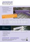 JACKODUR Dämmschalung Plus Produktblatt - Jackon Insulation - Seite 2