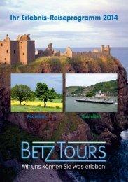 Programmheft 2014 - Betz-Tours