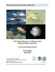 A Focus on Federal Waters - National Marine Sanctuaries - NOAA