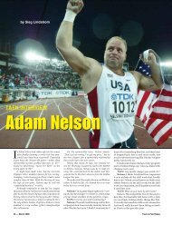 T&FN; INTERVIEW - Track & Field News