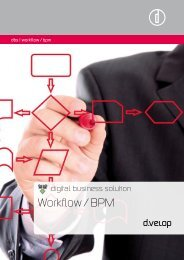 Workflow / BPM - d.velop AG