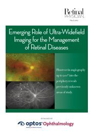 Emerging Role of Ultra-Widefield Imaging for the ... - Optos