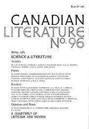 Spring, 1983 SCI6NC6 & LIT€R7ITUR - University of British Columbia