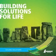 BuiLDinG SoLutionS FoR LiFE - Lafarge in South Africa