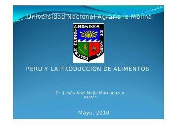 papa - Universidad Nacional Agraria La Molina
