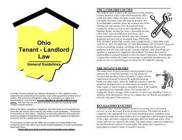 Ohio-Landlord-Tenant-Law