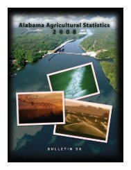 2008 Alabama Agricultural Statistics - Association of County ...
