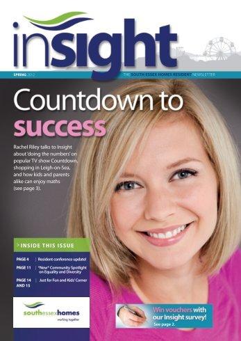 Insight Spring 2012 - South Essex Homes