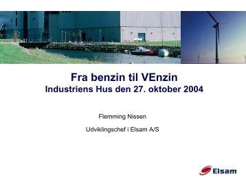 Fra benzin til VEnzin