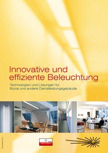 """Broschüre """"Innovative und effiziente Beleuchtung"""" - Richtig hell"""