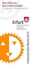 Programm IKW 2013 - Erfurt