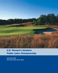 U.S. Women's Amateur Public Links Championship - USGA