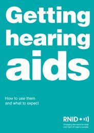 Getting hearing aids - Become an NHS Foundation Trust member now!
