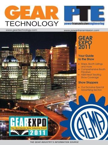 TECHNOLOGY - Gear Technology magazine