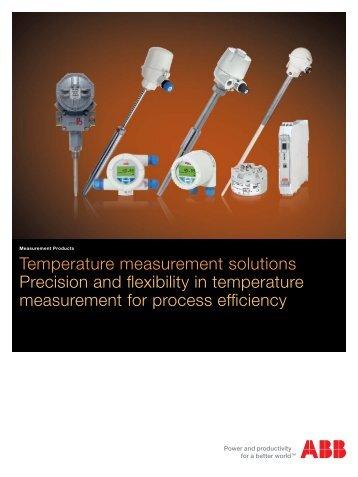 Temperature measurement solutions Precision ... - Automation.com