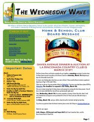 The Wednesday Wave - Daves Avenue Elementary School