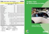 TaxiBus T223 Ihr Ortsverkehr in Lotte - RVM