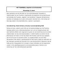 verslag van de studiedag - Alumni - Hogeschool-Universiteit Brussel
