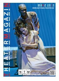 "MÃ""RZ 2013 - Nationaltheater Mannheim"