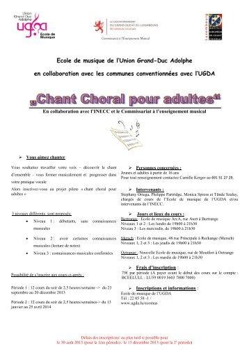 Lire la suite - Union Grand-Duc Adolphe