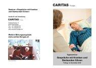 Gesprächsführung 2010.pub - Caritas Thurgau