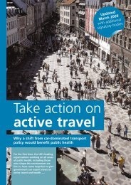 Take action on active travel - RoadPeace