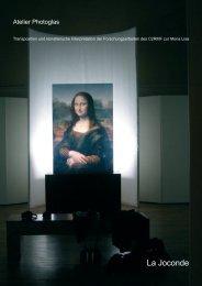La Joconde - photoglas