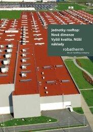 Jednotky rooftop: Nová dimenze Vyšší kvalita. Nižší ... - robatherm