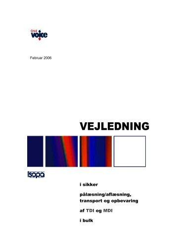 GUIDELINES for Safe Loading/Unloading Transportation ... - Isopa