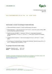 HALVÅRSMEDDELELSE PR. 30. JUNI 2005 ... - Carlsberg Group