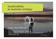 Claus Stig - LCA Sustainable Product Design Europe 2010