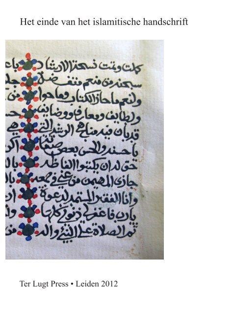 Moslim meningen op het dateren