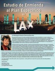 Estudio de Enmienda al Plan Específico - LAX Master Plan