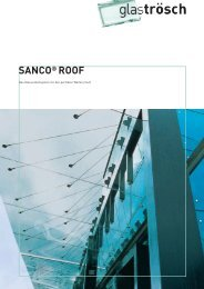 SANCO® ROOF - Ayinger Glaserei