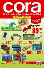 Catalog Cora, Supliment Special, valabil 20 aprilie ... - TotulRedus.ro
